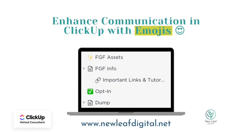 Enhance Communication in ClickUp with Emojis 😍