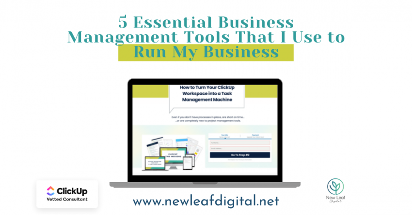 5 Essential Business Management Tools